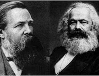 Karl Marx, Friedrich Engels