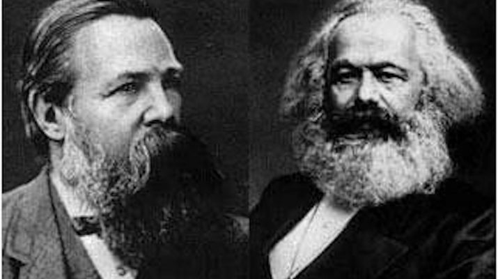 Karl Marx, Friedrich Engels